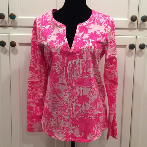 176c9e8a4863 Lilly Pulitzer Tops - Lilly Pulitzer Rule Breakers size large